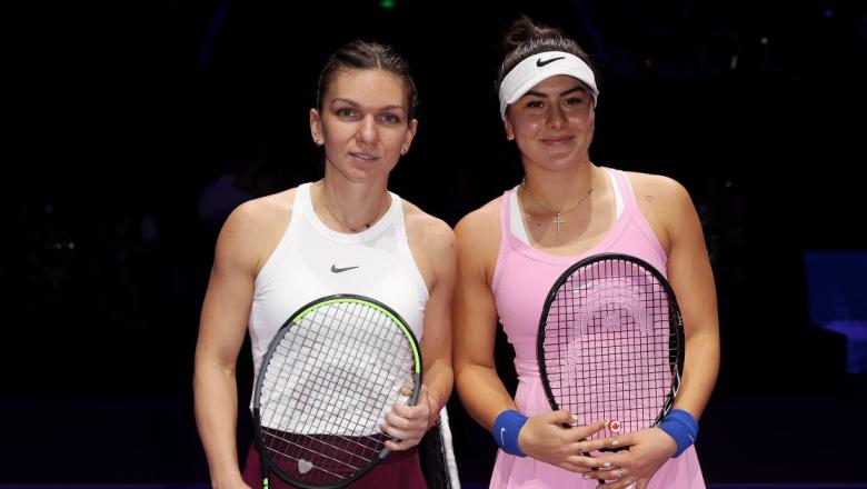 This image has an empty alt attribute; its file name is simona-halep-bianca-andreescu.jpg